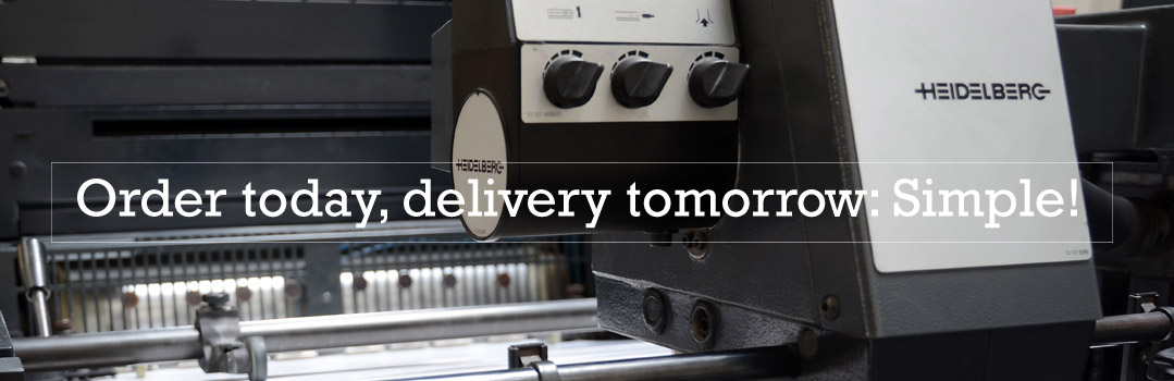 Order today delivery tomorrow
